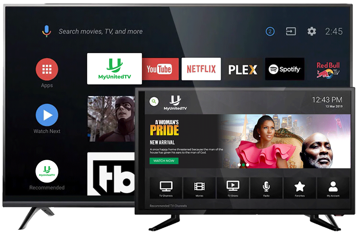 MyUnitedTV - Watch the best African TV channels on Roku,AndroidTV,IOS or Amazon fireTV Live! image-mobile-left3 Compatible Devices
