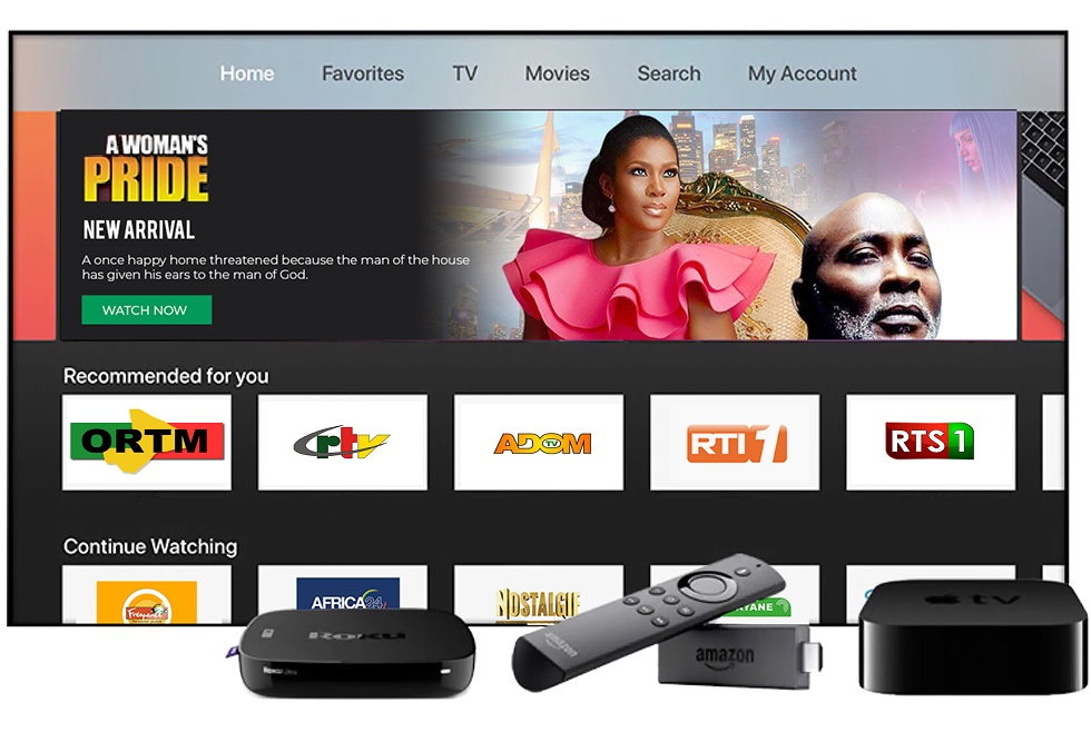 MyUnitedTV - Watch the best African TV channels on Roku,AndroidTV,IOS or Amazon fireTV Live! Compaible-Devices-1 Compatible Devices